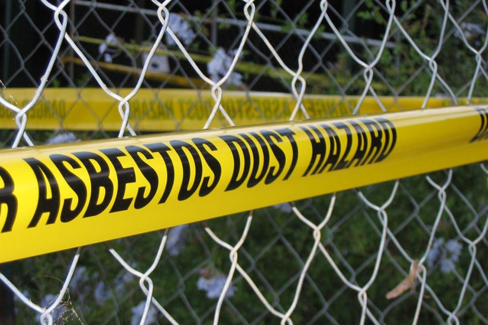 Dispose of Asbestos Dust